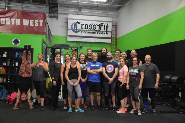 Lynnwood Crossfit class photo